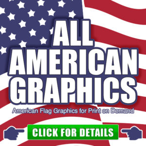 All American Graphics for Commercial Use